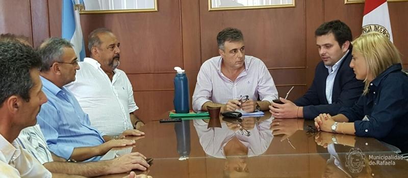 Gestiones municipales ante la naci n por los da os del for Secretaria del ministerio del interior